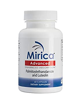 Mirica® Advanced - Enhanced Absorption Formula - Pea  Palmitoylethanolamide  and Luteolin - Immune & Nervous System Support - Pain Relief - Anti-Inflammatory Supplement - 60 ct