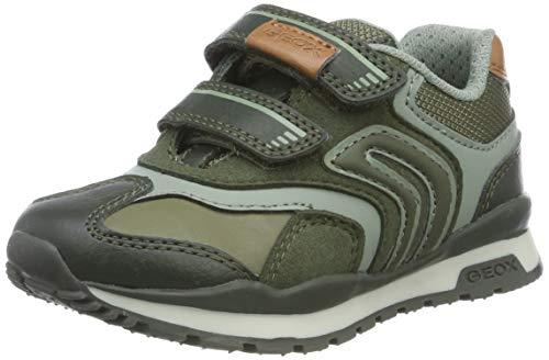 Geox Baby-Jungen J Pavel A Sneaker, Military, 24 EU