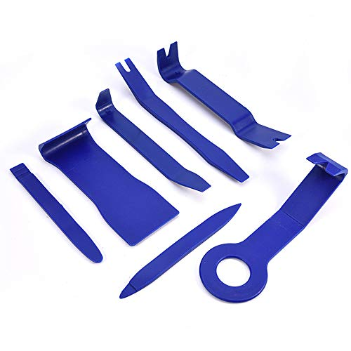 Univsal 7Stks/set DIY Auto Reparatie Tool Kit Harde Kunststof Auto Radio Media Panel Deur Clip Panel Trim Dashboard Verwijdering Opening Tool