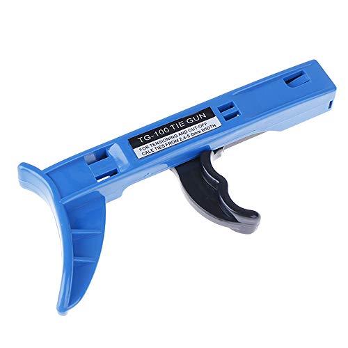 LXB Pistola para Atar Cables, Herramienta de sujeción y Corte con Mango...
