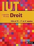 Droit - DUT GEA et TC 1re et 2e années