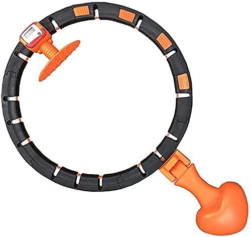 mjj Neumáticos Fitness Neumáticos Inteligente Hula Hoop para principiantes Rotación Automática Intercambiable Podría Personalizar El Gimnasio Yoga para Fitness y Pérdida de Peso