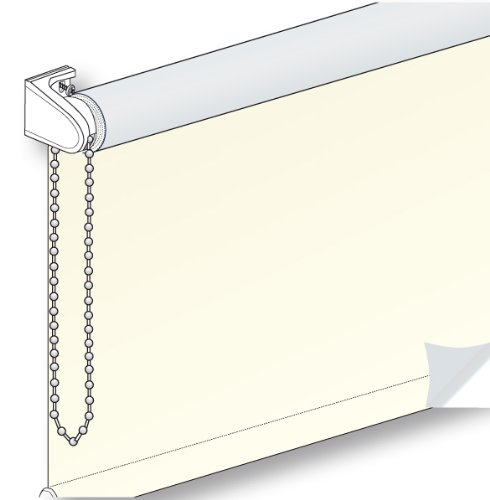 EASY ROLLO ROLLO VERDONKELND ecru-zilver 90cm breed x 210cm lang energiebesparend