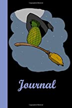 Journal: Dotted Journal: 6X9 inch size at 122 pages interior with flying witch pineapple cover.