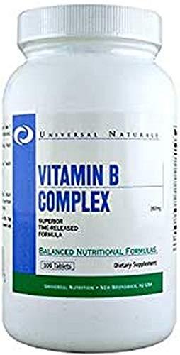 Universal Nutrition Complesso Di Vitamina B Integratore 100 Compresse - 100 g