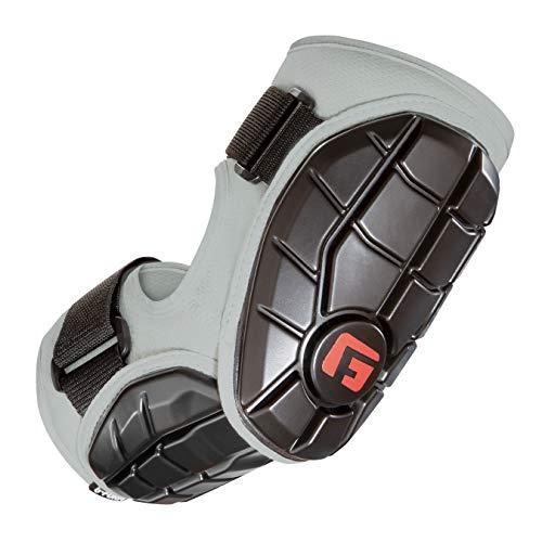 G-Form Unisex-Erwachsene Elite Batter's Elbow Guard Ellbogenschutz, Silber, X-Large