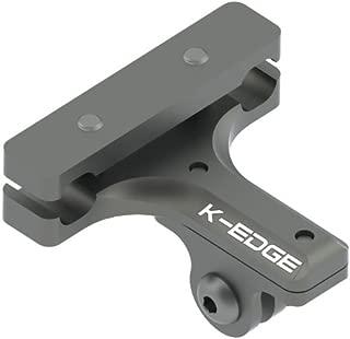 K-EDGE GO BIG Pro Saddle Rail Mount for GoPro(TM) Hero (K13-430 Gun Metal Grey)