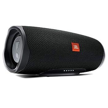 JBL Charge 4 Portable Waterproof Wireless Bluetooth Speaker - Black  Renewed