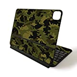 MightySkins Skin for Apple Magic Keyboard for iPad Pro 11-inch (2020) - Sushi | Protective, Durable, and Unique Vinyl Decal wrap Cover, Green Camouflage