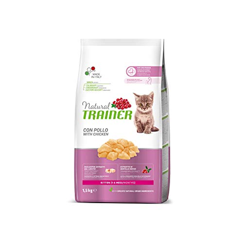 Natural Trainer NovaFoods Cibo per Gatti Natural Cat Kitten 1,5KG - 1500 gr