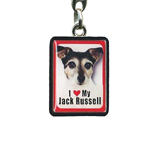 Porte clef j aime mon jack russel