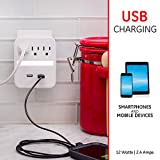 Photo #5: GE Pro USB Charging Surge Protector with Night Light