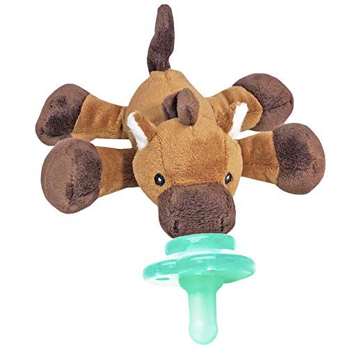 Nookums Paci-Plushies Buddies - Dummy Holder - Adapts to Name Brand...