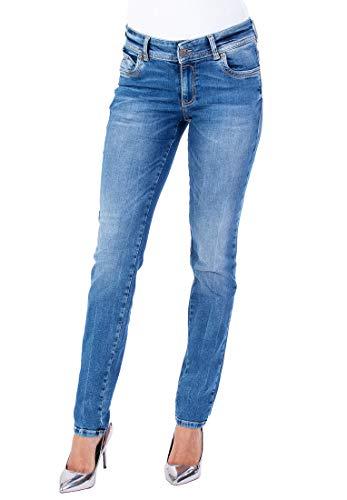 Blue Monkey Damen Jeans Laura 0001 Dekorative Nähte