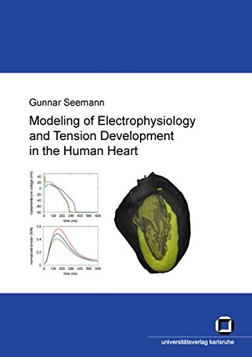 Modeling of electrophysiology and tension development in the human heart