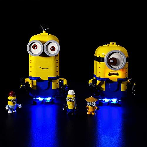 YOU339 LED Licht Set für Lego Brick-Built Minions and Their Lair 75551, USB Betriebenes LED Licht Kleines Teilchen, Konstruktions Baustein Montage Spielzeug Kit (LED Licht Enthalten Nur)