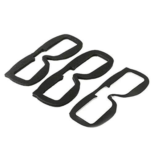 ACAMPTAR 3 Piezas/Juego para Fatshark Hd3 Hd2 / V2 V3 V4 Gafas de Video Piezas de Repuesto de Bloques de Esponja de Espuma para Accesorios de Gafas FPV