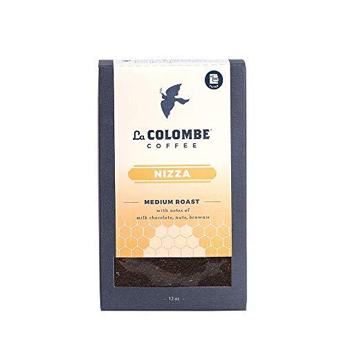 La Colombe Drip Grind Coffee Full Bodied Medium Roast Specialty Roasted Coffee, Nizza, 12 Ounce