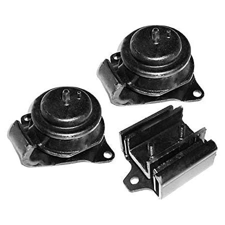 Engine Motor /& Transmission Mount For Nissan 1995-1997 Pickup Set 3PCS 2WD 2.4L