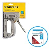 Best Staple Guns - Stanley TR110 Heavy Duty Steel Staple Gun 84 Review
