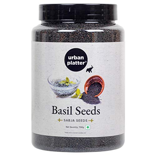 Urban Platter Basil Seeds (Sabja) Jar, 700g