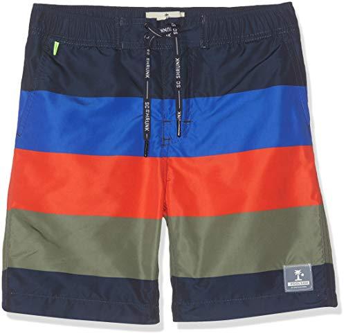 Scotch & Soda Shrunk Jungen Boardshorts Badeshorts, Mehrfarbig (Combo G 461), 164 (Herstellergröße: 14)
