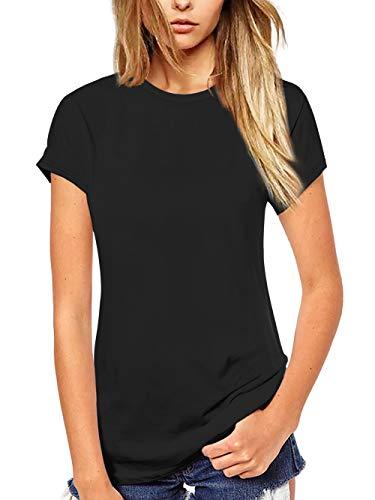 Beluring Women T Shirt Short/Long Sleeve Crew Neck Tee Tops Blouse