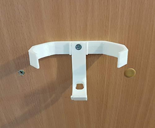 Google Home - Soporte de pared mini (ocultable debajo de estantes, armarios, etc.), color blanco