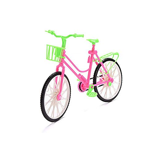 Mini bicicleta de montaña excelente mini juguete de plástico mini deportes extremos dedo bicicleta Cool Boy juguete Bobby muñeca Accesorios calidad premium útil y práctico