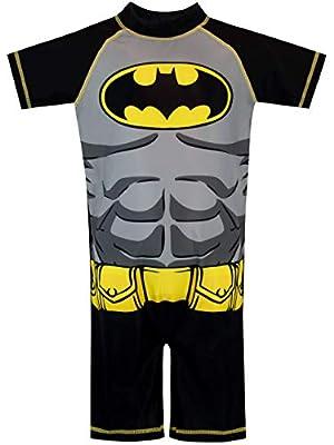 DC Comics Boys' Batman Swimsuit Size 3T Black