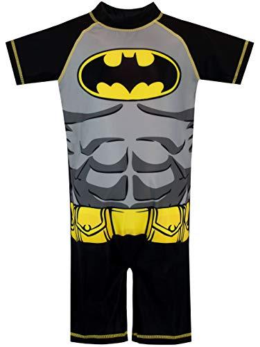 DC Comics Jungen Batman Badeanzug Schwarz 122