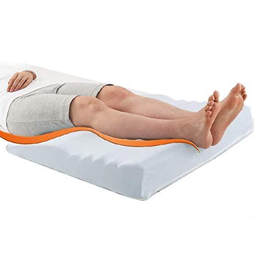 ZCPDP Almohada para piernas con Espuma viscoelástica para aliviar Las Venas varicosas Que se Usan para Mujeres Embarazadas con cojín para piernas con ciática