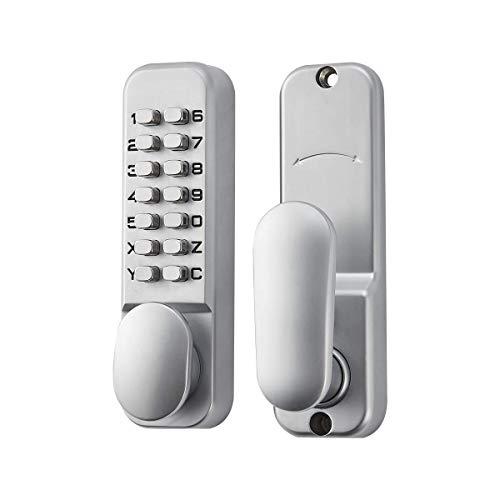 SPOTACT ML101 Schlüsselloses Türschloss Mit Mechanischem Codeschloss Retro Stil 6-Passwortschloss Geeignet Für Garage Hotel Büro Studio Lagerbier