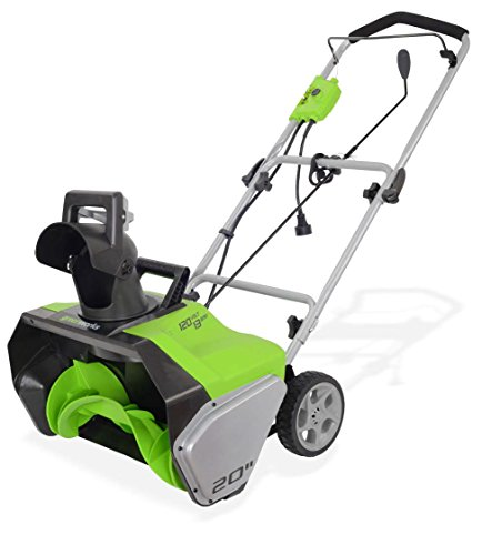 Greenworks 2600502 20-inch Corded Snow Thrower