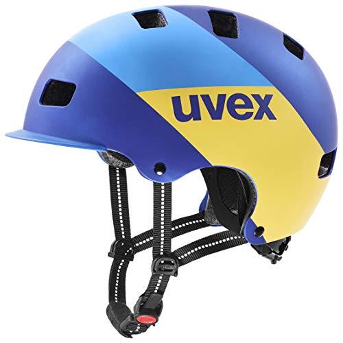 Uvex Unisex– Erwachsene, hlmt 5 bike pro Fahrradhelm, blue energy mat, 55-58 cm