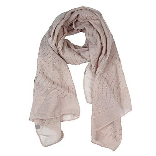 Glamexx24 Bloempatroon dames sjaal halsdoek vrouw hoofddoek gradiënt buis sjaal gestolen voor lente zomer het hele jaar door