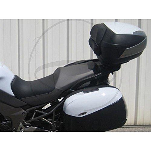 Shad K0VR12SF Kit Soporte Maleta Lateral para Kawasaki Versys 1000, Negro