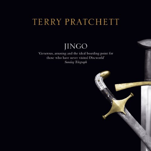 Jingo audiobook cover art