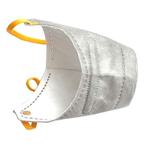 Liamostee 3 Unids/Caja Bozales para Perros Reutilizables Mascarilla Facial a Prueba de Polvo Respirador Suave para Mascotas Filtro PM2.5 Anti Polvo