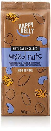 Marque Amazon - Happy Belly Mélange de fruits à coque, 500 g