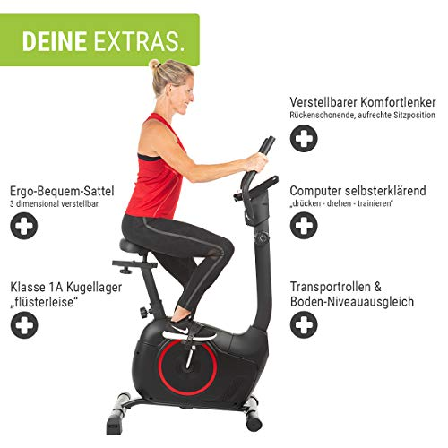 Fitness Trainingsrad HAMMER Heimtrainer Cardio T3 kaufen  Bild 1*