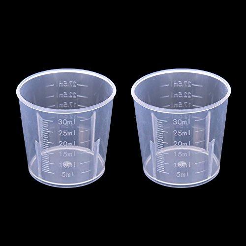 Messbecher, Messbecher, Messbecher für die Küche, transparenter Griff oder kein Griff erhältlich
