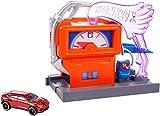 Mattel Hot Wheels-Carreras en la gasolinera, pistas de coches de juguete nios +4 aos, multicolor FMY97 , color/modelo surtido