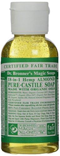Dr. Bronner's Savon liquide de Castille pur Bio Amande