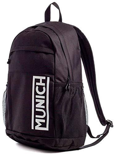 Munich Backpack Slim Gym Sports Black, Erwachsene, Unisex, Schwarz, Einheitsgröße