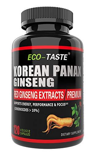 Korean Panax Ginseng Capsule, 10% G…