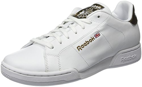 Reebok NPC II Metallics, Zapatillas Unisex Adulto, Blanco (White/Antique Copper), 37.5 EU