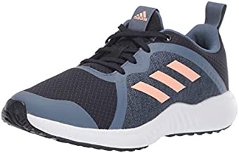 adidas Unisex-Kid's Fortarun X Running Shoe, Legend Ink/Glow Pink/tech Ink, 6 M US Big Kid