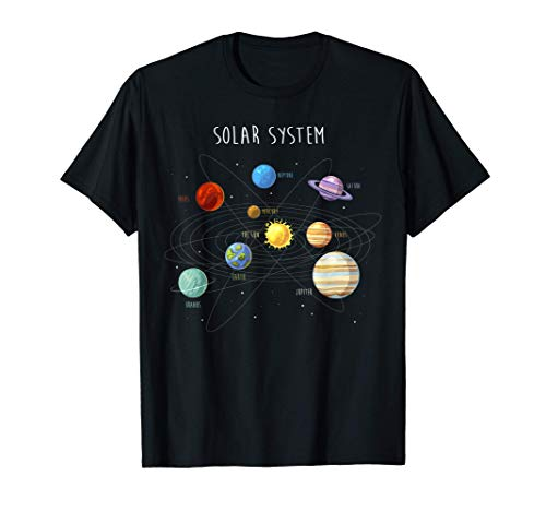 Sistema solar y planetas, astrología - astronomía Camiseta