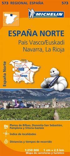 Mapa Regional País Vasco/Euskadi de Michelin